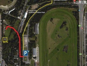 mapa aleja parking